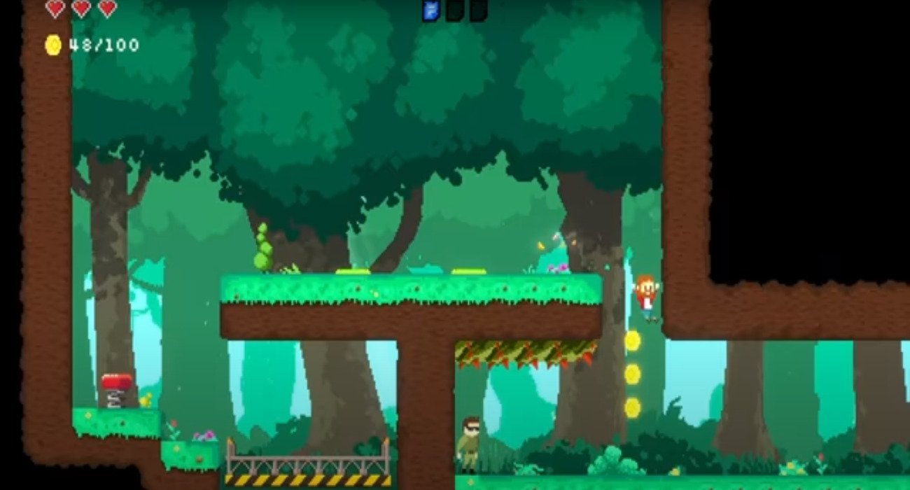 Landflix Odyssey Is A Retro Platformer About Fighting Villains In Television Shows, Out Now On The PS4