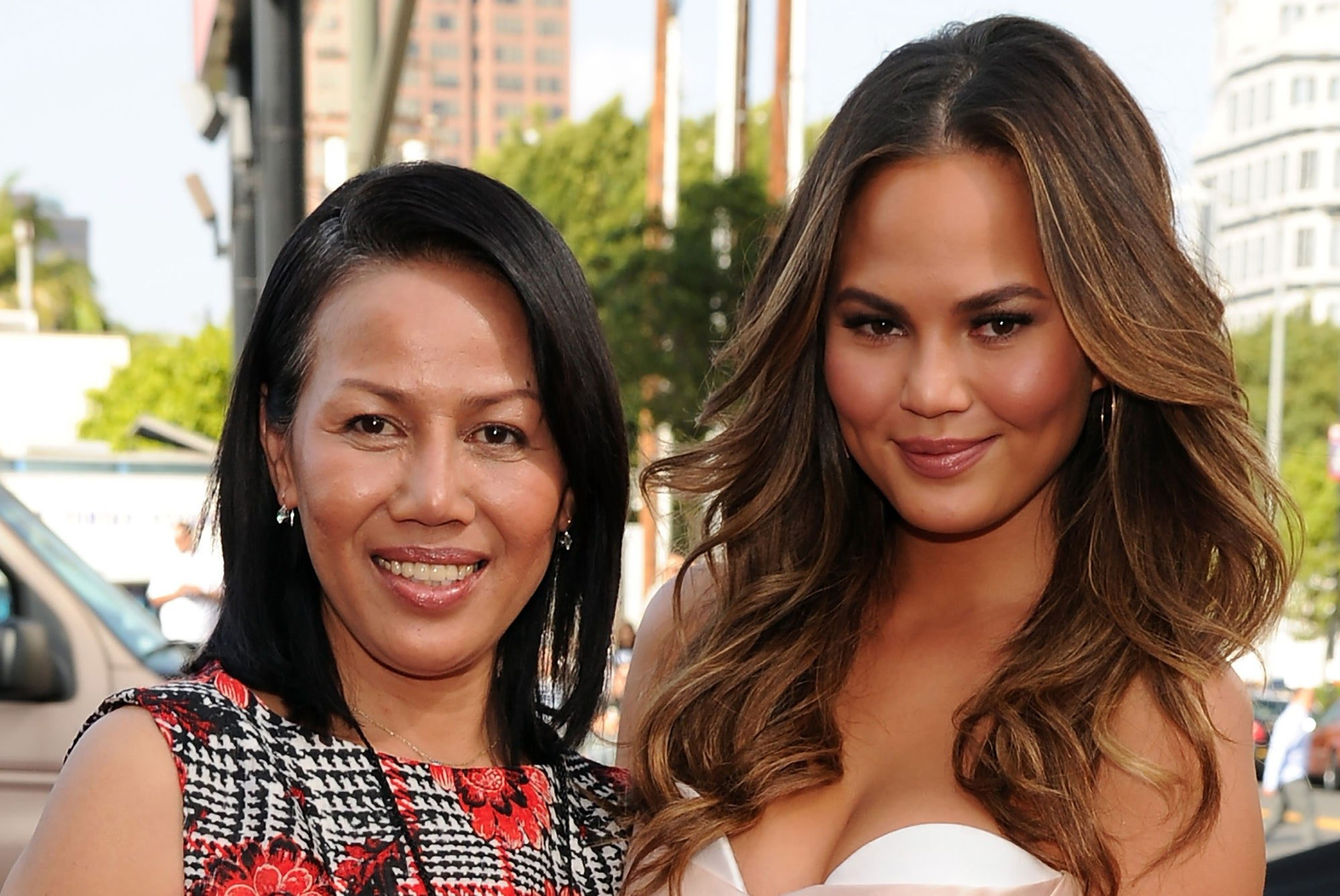 Chrissy Teigen Leans On Her Mom After Experiencing The 'Hardest 4 Days' Of Her Life!