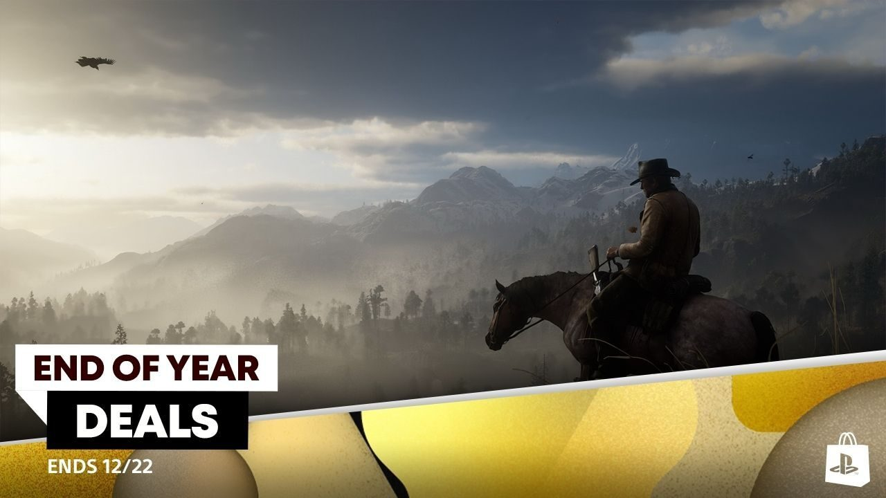 PlayStation Store's End of Year Deals promotion starts today