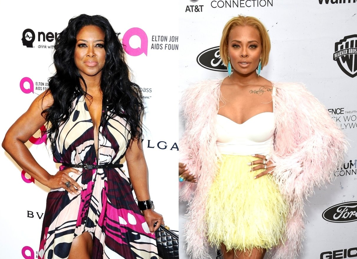 Eva Marcille's Boy, Mikey Wishes A Happy Birthday To Kenya Moore's Baby Girl, Brooklyn Daly