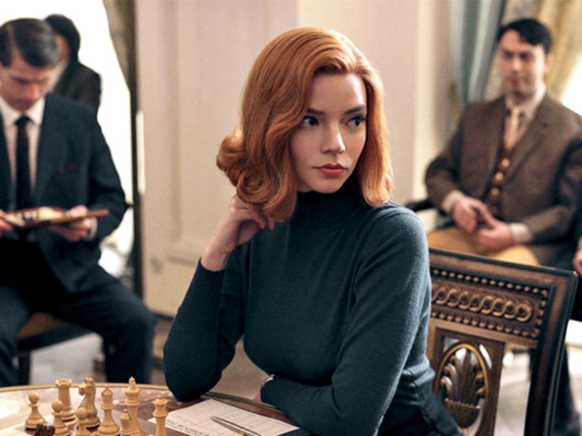 People Are Playing Chess Because Of Anya Taylor-Joy's Binge-Worthy Series 'The Queen's Gambit'