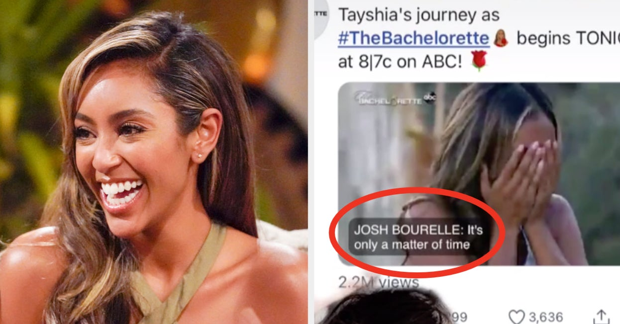 """Bachelorette"" Tayshia Adams Responded To Rumors From A Viral TikTok About Her Ex-Husband Appearing On The Show"