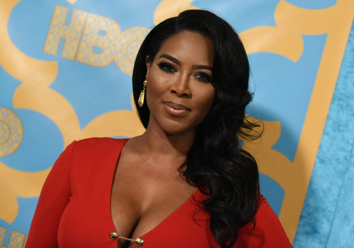 Kenya Moore Shared Her Joy With Fans, Telling Them 'It's Out Time'