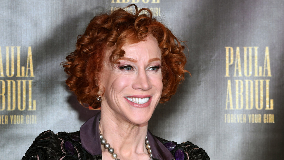 'Where's the love & tolerance?' Kathy Griffin RE-POSTS severed Trump head image that saw her fired in 2017