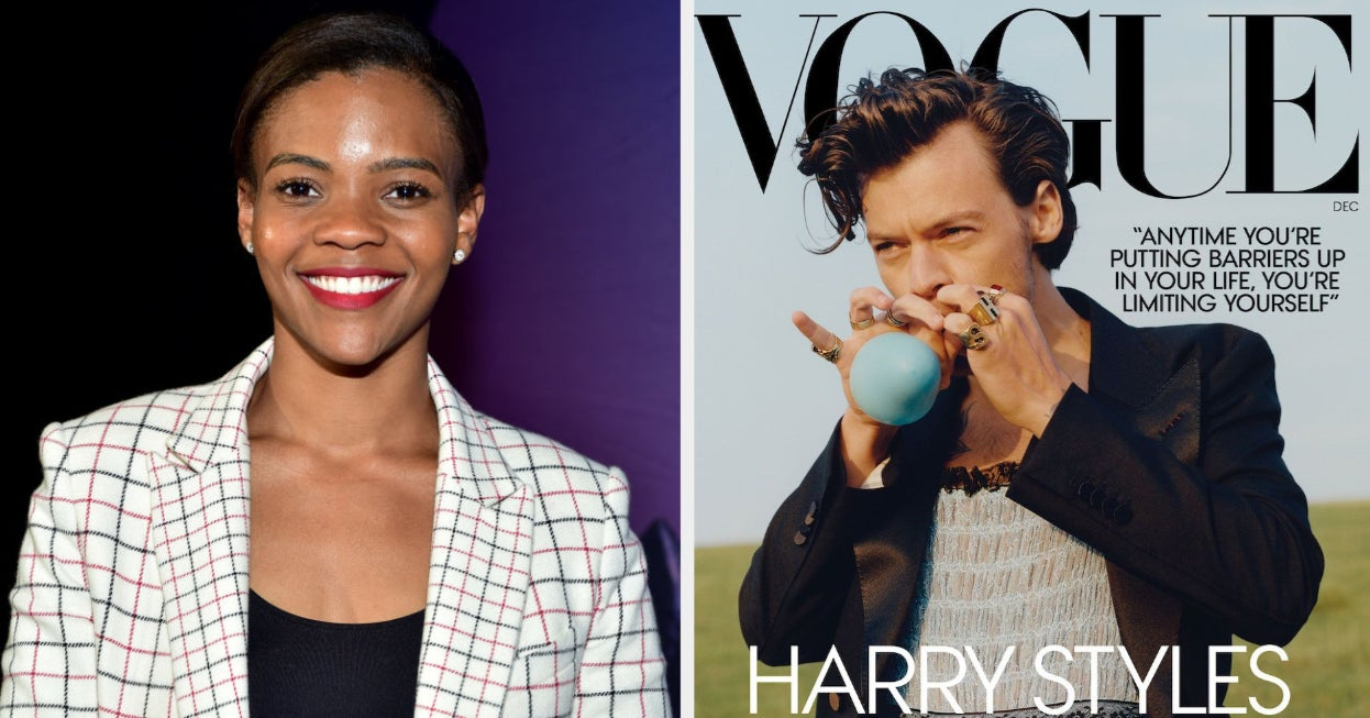 Candace Owens Commented On Harry Styles' Vogue Cover And His Fans Came Out To Support Him