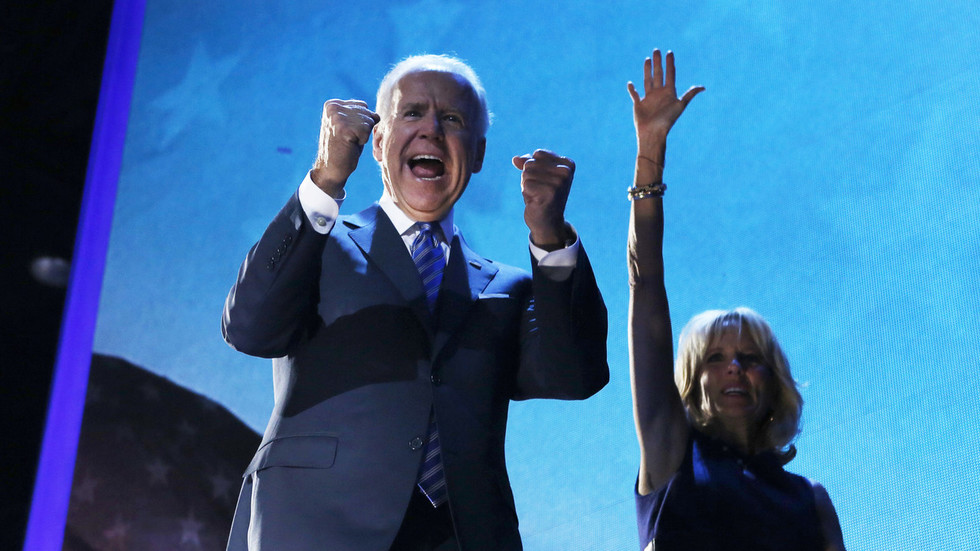 AP count gives Joe Biden 270 electoral votes required to win presidency, after Pennsylvania lead secured