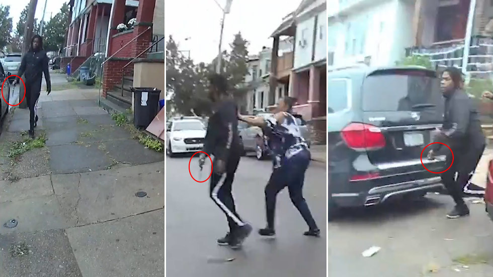 'Put the knife down!' Walter Wallace Jr.'s final moments revealed as Philly police release harrowing bodycam footage