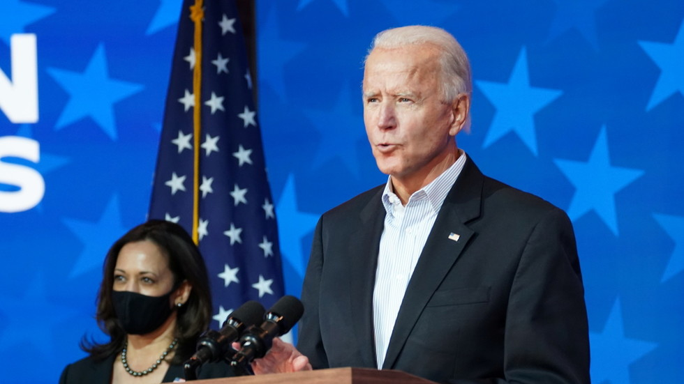 Joe Biden sees 'NO DOUBT' of winning presidency, urges supporters to be patient, calls system 'envy of the world'