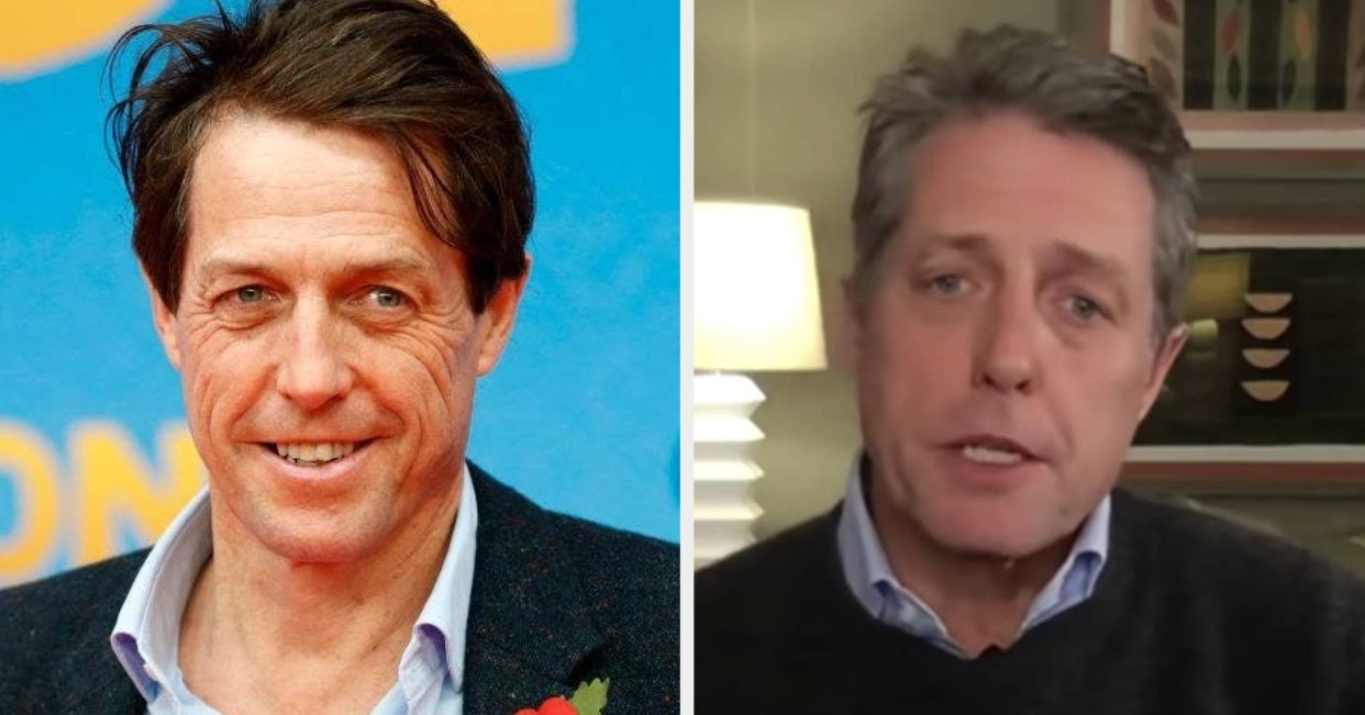 Hugh Grant Opened Up About Having Had The Coronavirus And His Kinda Strange Quarantine Barbie Pastime