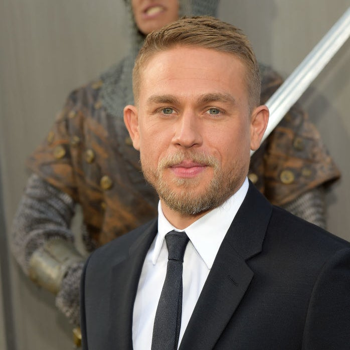 "Charlie Hunnam attends the premiere of Warner Bros. Pictures' ""King Arthur: Legend Of The Sword"""