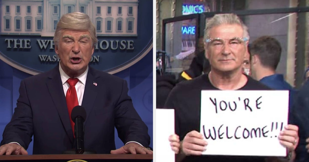 "Alec Baldwin Has Ended His Four-Year Run As ""SNL""'s Version Of Donald Trump"