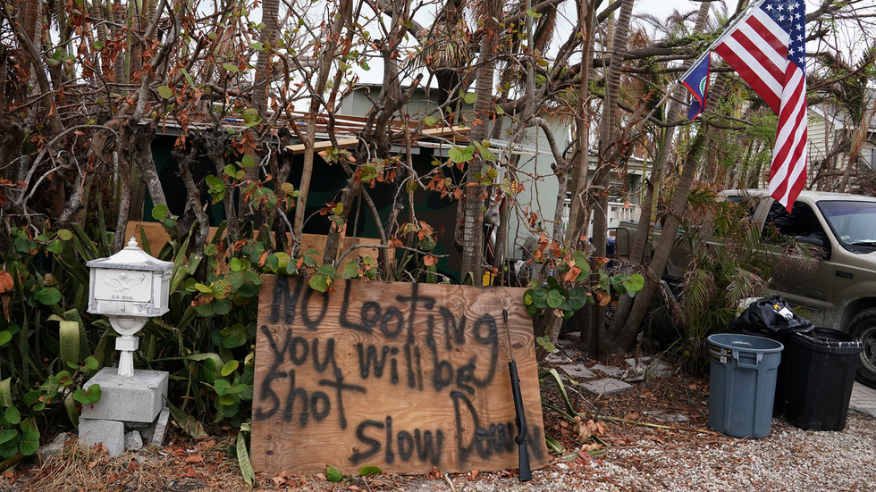 License to shoot rioters & looters? Florida governor proposes expanding 'stand your ground' law