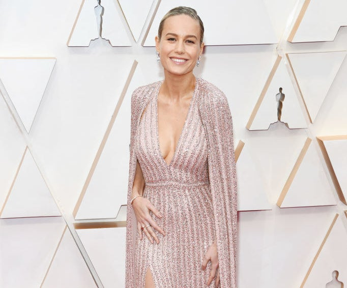 Brie Larson attends the 92nd Annual Academy Awards