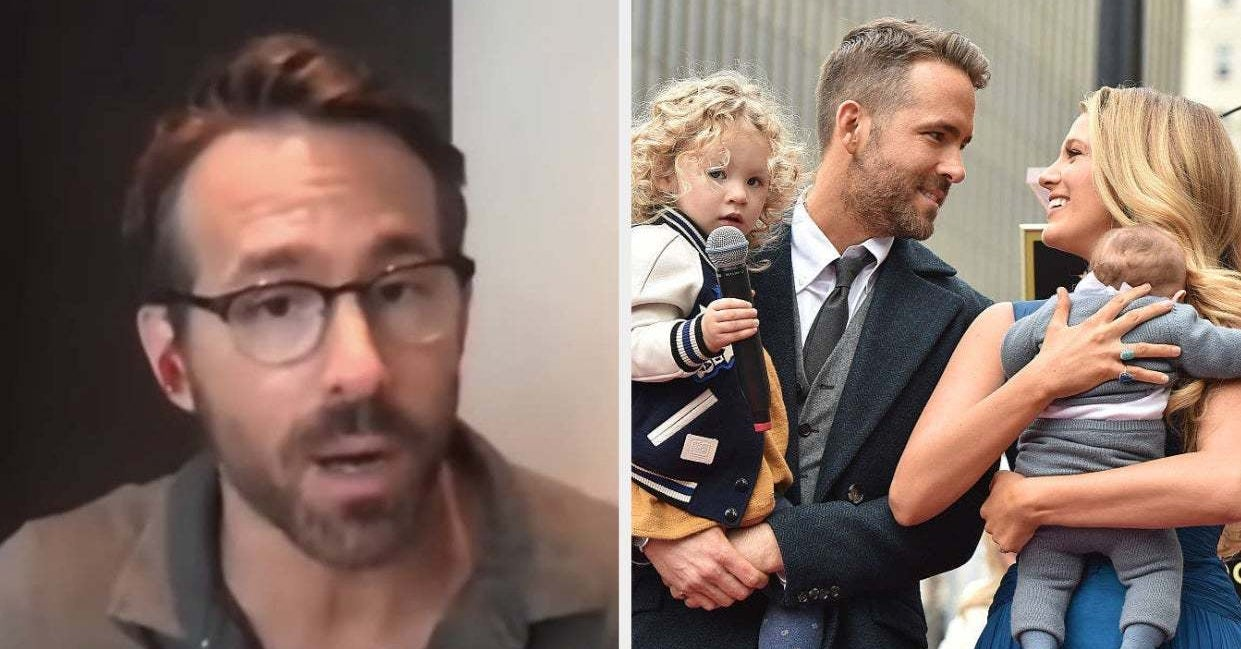 Ryan Reynolds Opened Up About Being A Dad To Three Girls With Blake Lively, And, My God, It's So Wholesome