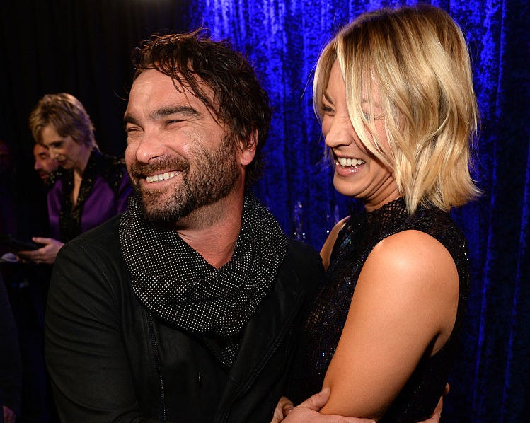 Johnny and Kaley