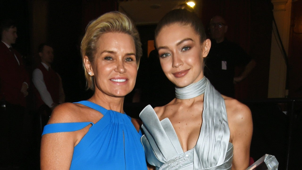 Yolanda Hadid Gushes Over Her 'Sunshine' Gigi Hadid And Her Bundle Of Joy – Check Out The Adorable Pic!