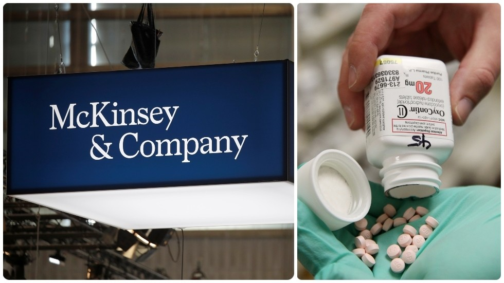 McKinsey told OxyContin producer to pay off distributors for every attributable overdose, court papers show – report