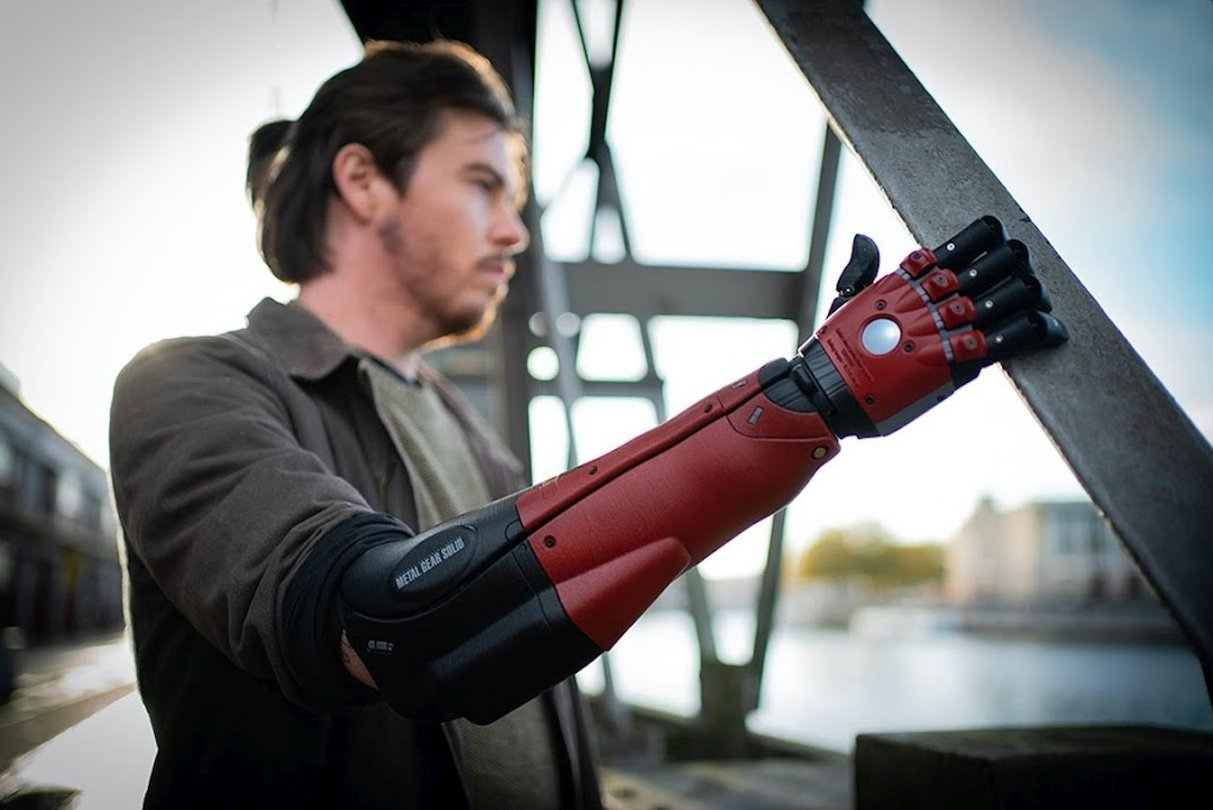 "Konami and Open Bionics Have Announced the Metal Gear Solid ""Hero Arm"""