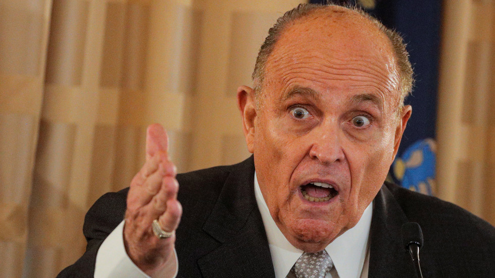 'Ballots could be from Mars, as far as we're concerned': Giuliani alleges mail-in voter fraud in Pennsylvania & Wisconsin