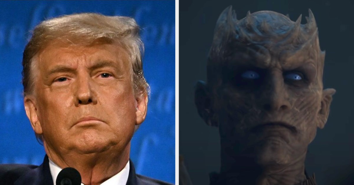 "The Night King From ""Game Of Thrones"" Is Claiming That He Won The Battle Of Winterfell In Response To Donald Trump"