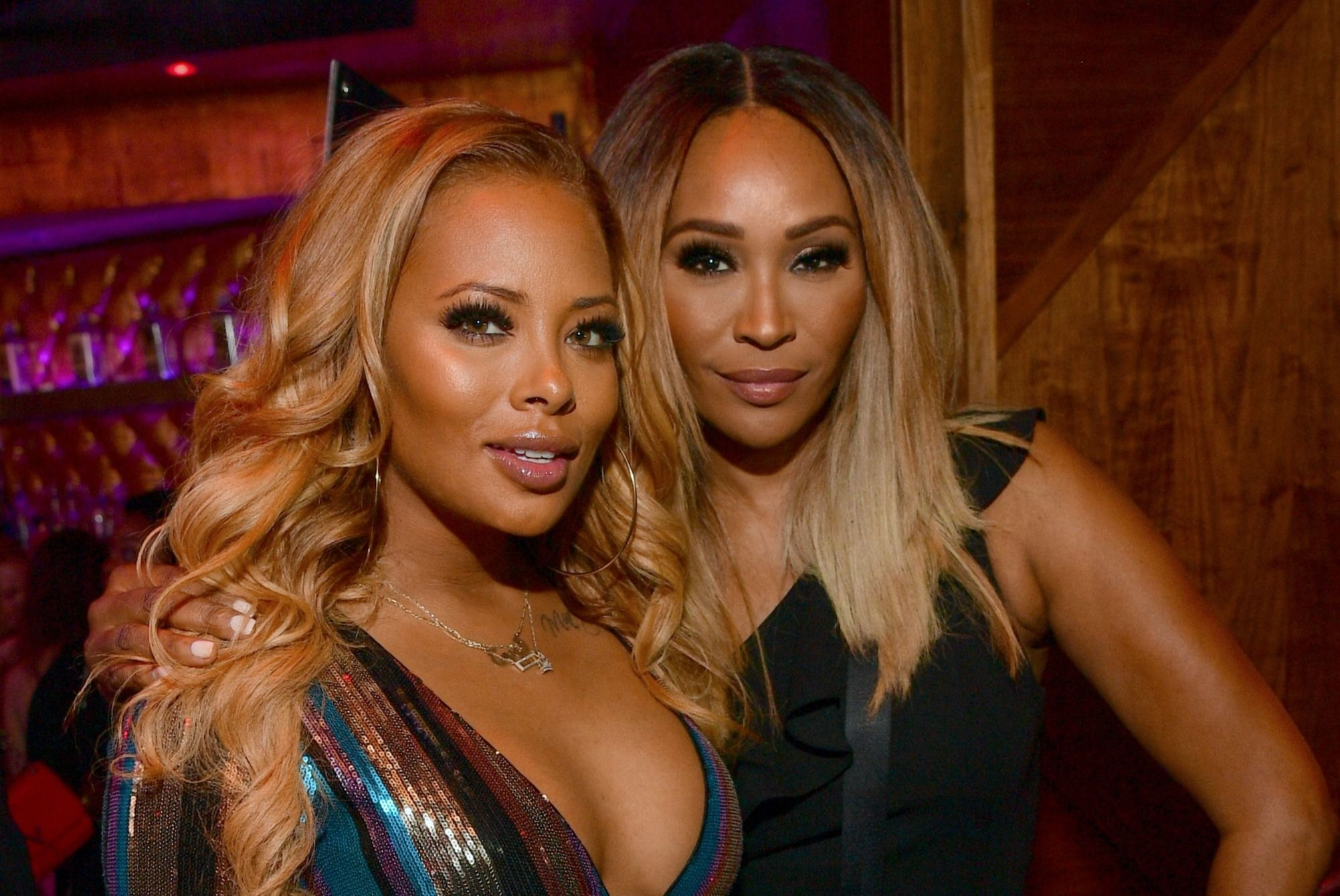 Eva Marcille And Cynthia Bailey Have An Exciting Brunch Event Today