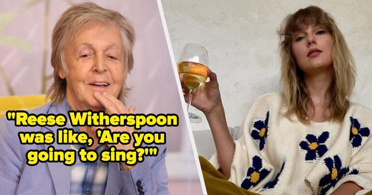 Paul McCartney And Taylor Swift Reminisced About A Party With A Bunch Of Celebrities