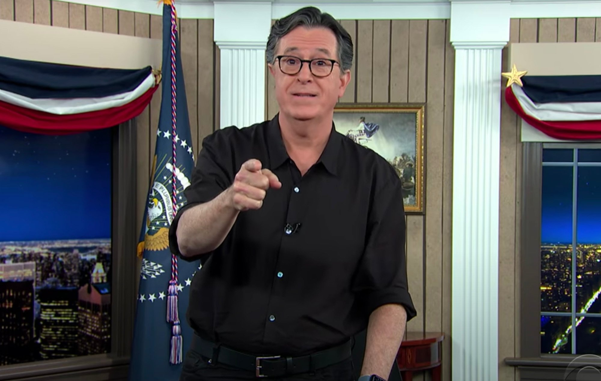 Stephen Colbert Gets Emotional After Donald Trump's 'Nonsensical' Speech – Says He Tried To 'Kill Democracy' And More!