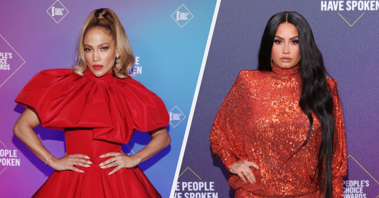 Here's What Everyone Wore To The 2020 People's Choice Awards