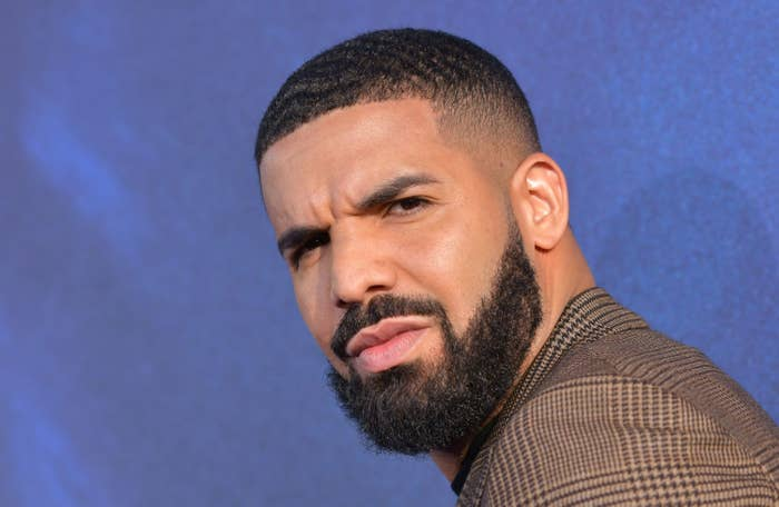 """Executive Producer US rapper Drake attends the Los Angeles premiere of the new HBO series """"Euphoria"""" at the Cinerama Dome Theatre in Hollywood on June 4, 2019"""