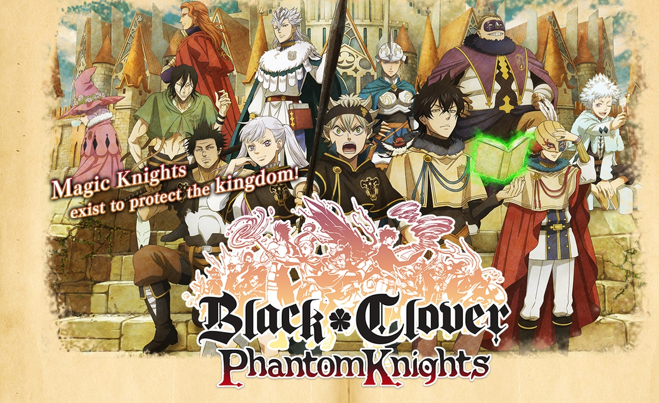 Black Clover Phantom Knights Mobile Game Shutting Down Servers This December