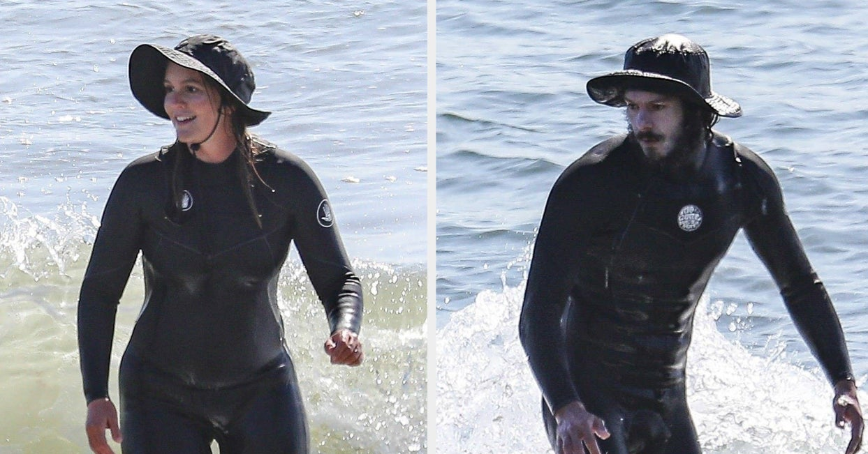 Absolutely Love This Surf Date That Adam Brody And Leighton Meester Went On