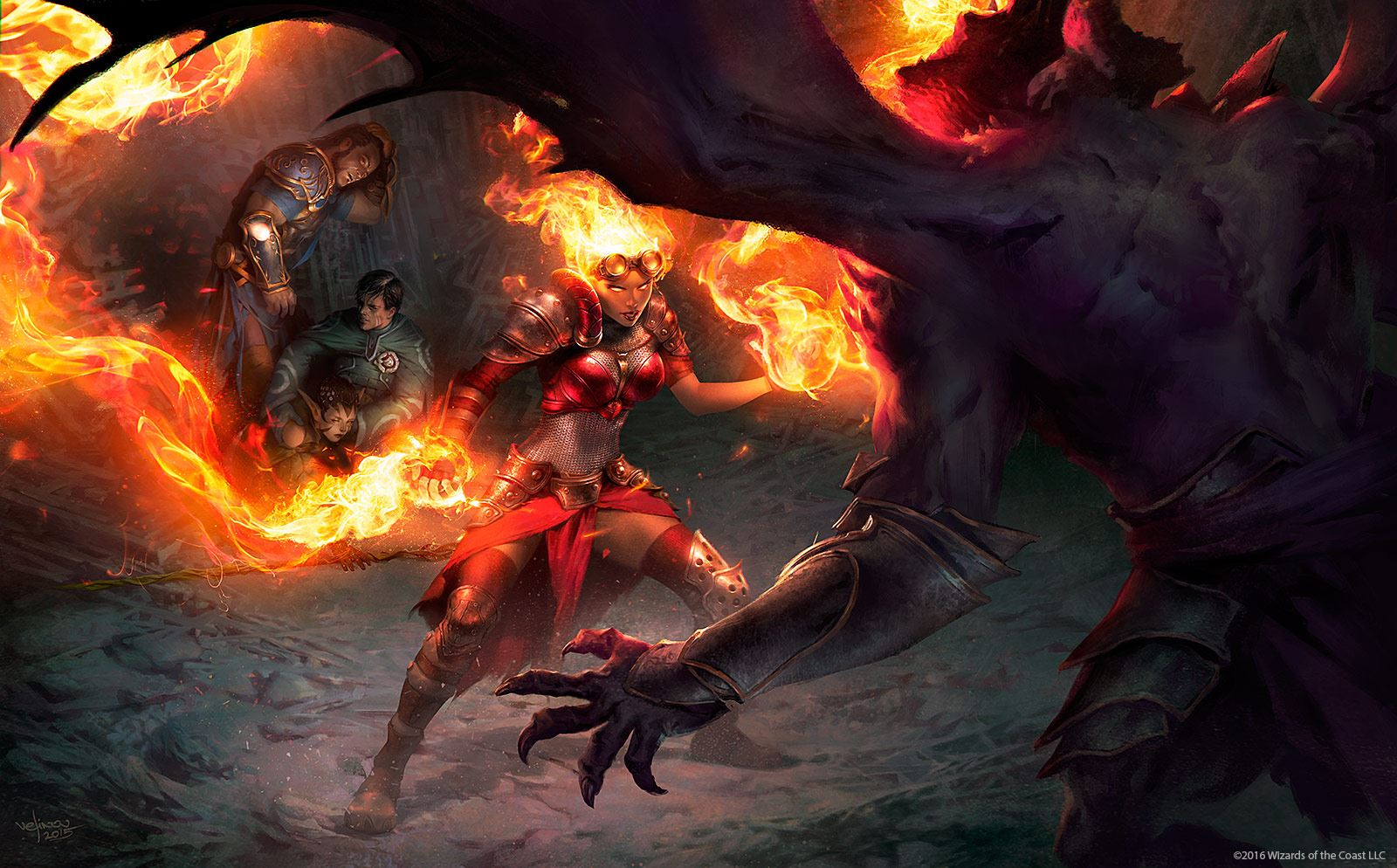 Tasha's Cauldron Of Everything: The Circle Of Wildfire Druid Gets Fiery Final Print In Wizards Of The Coast's Newest Rules Expansion