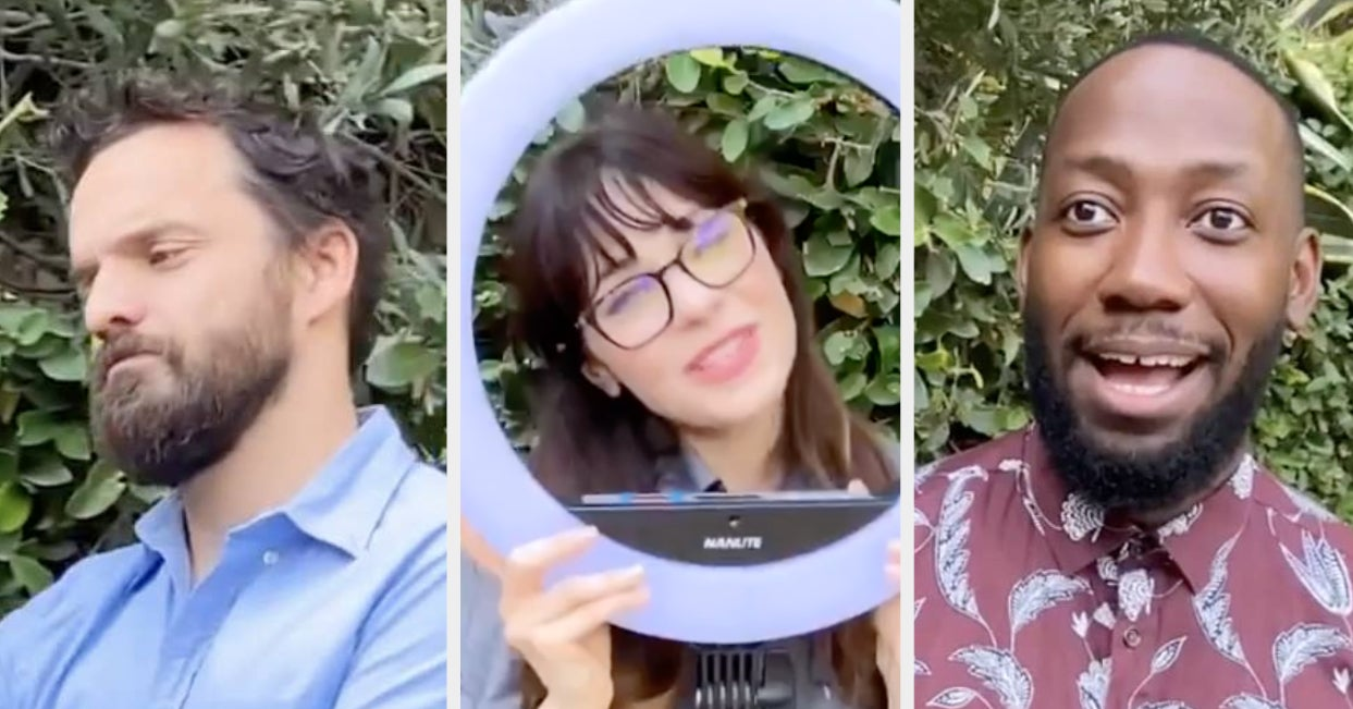 """The Cast Of """"New Girl"""" Recreated Their Opening Theme Song To Urge Fans To Vote"""