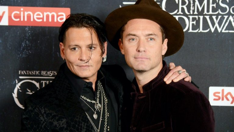 Jude Law Breaks His Silence On Johnny Depp's 'Fantastic Beasts' Firing