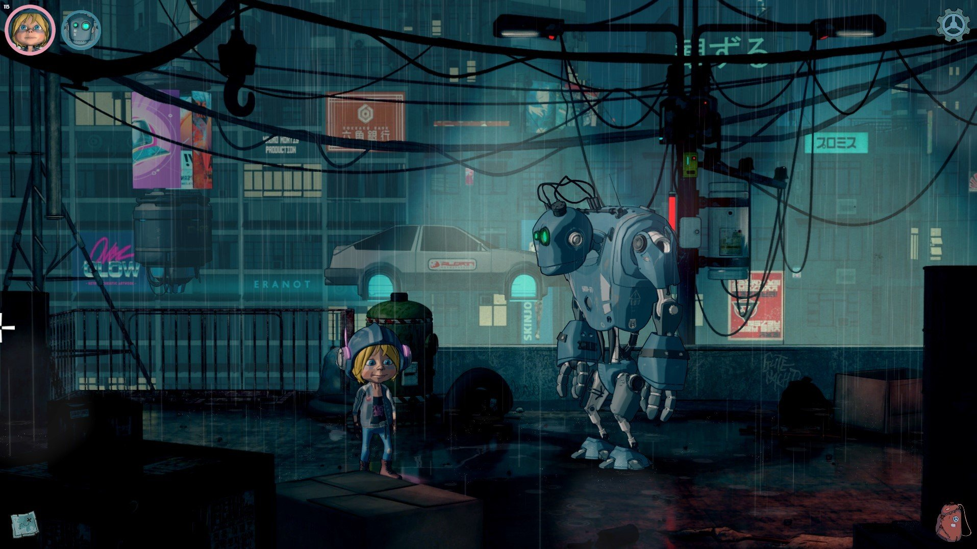Cyberpunk Point and Click Adventure Encodya Is Set To Release On January 26th, 2021
