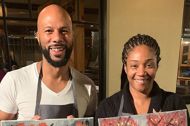Tiffany Haddish Loves That Common Makes Her Laugh All The Time
