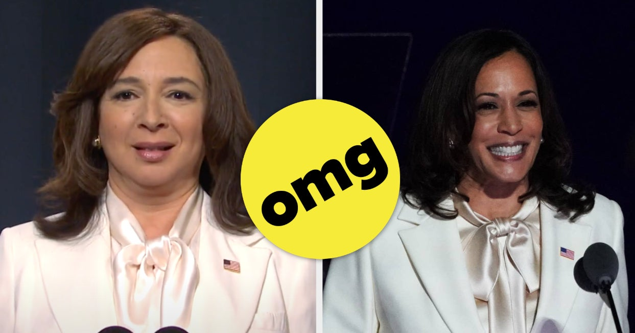 """SNL"" Nailed Kamala Harris's Speech Outfit So Fast People Got Whiplash"