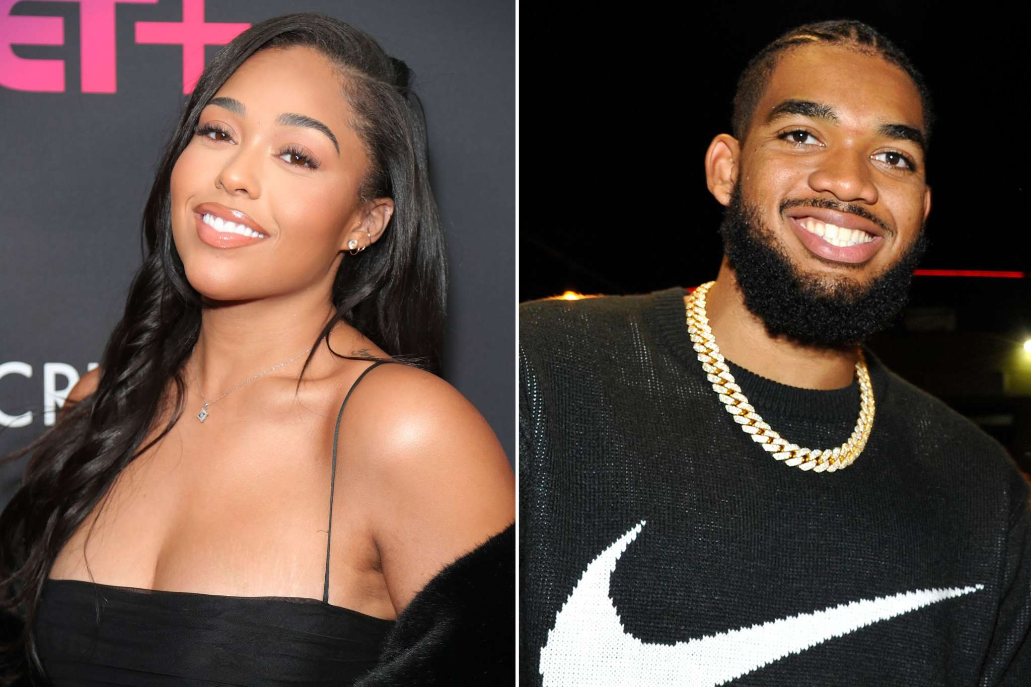 Jordyn Woods Flaunts Her And Karl-Anthony Towns' Matching Bling