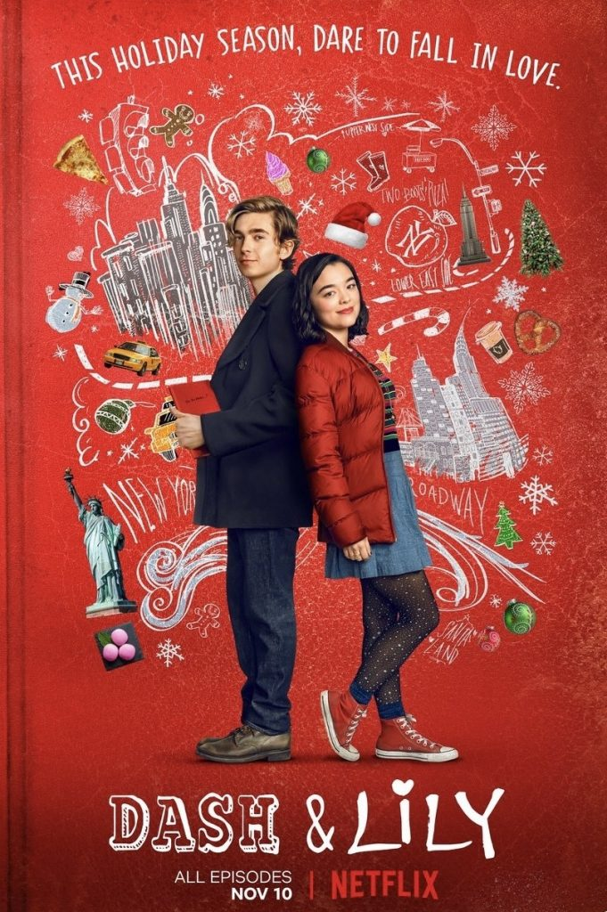 Promotional poster for Dash & Lily
