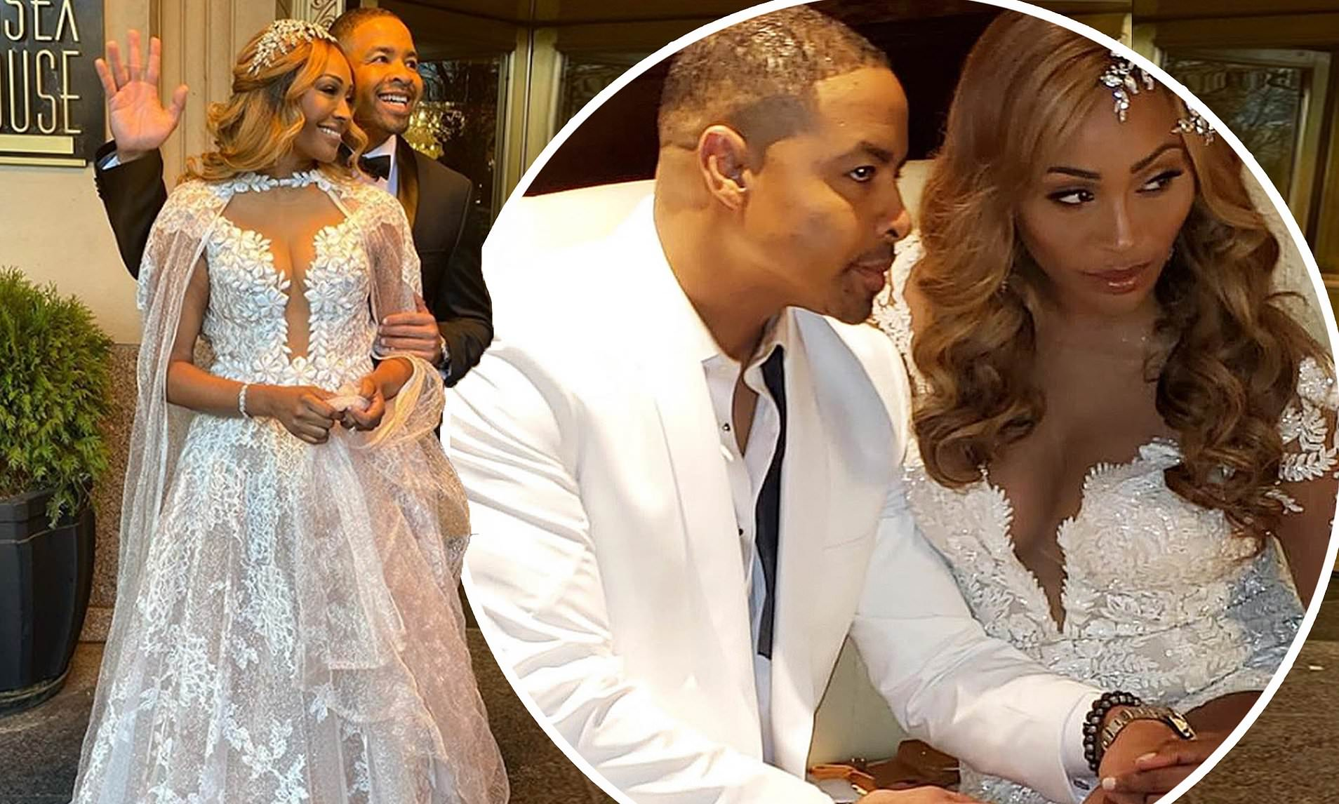 Cynthia Bailey Celebrates One Month Of Marriage With Mike Hill