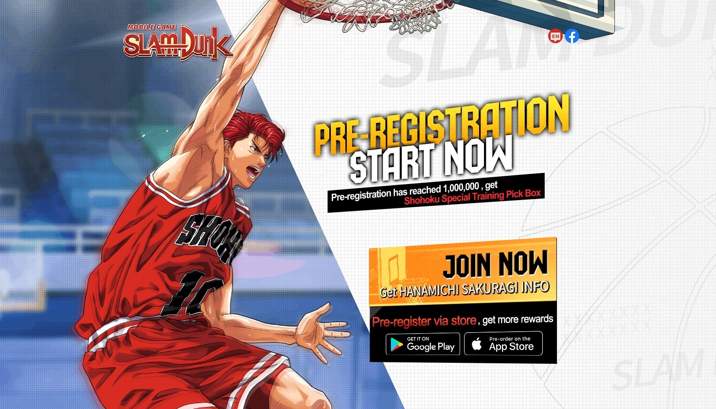 Slam Dunk Basketball Mobile Game Pre-Registrations Available Now With Bonuses