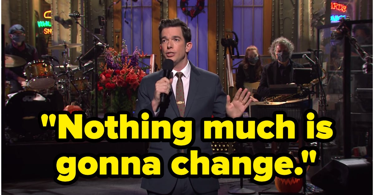 "John Mulaney Hosted ""SNL,"" And His Monologue Sparked A Mixed Reaction Online"
