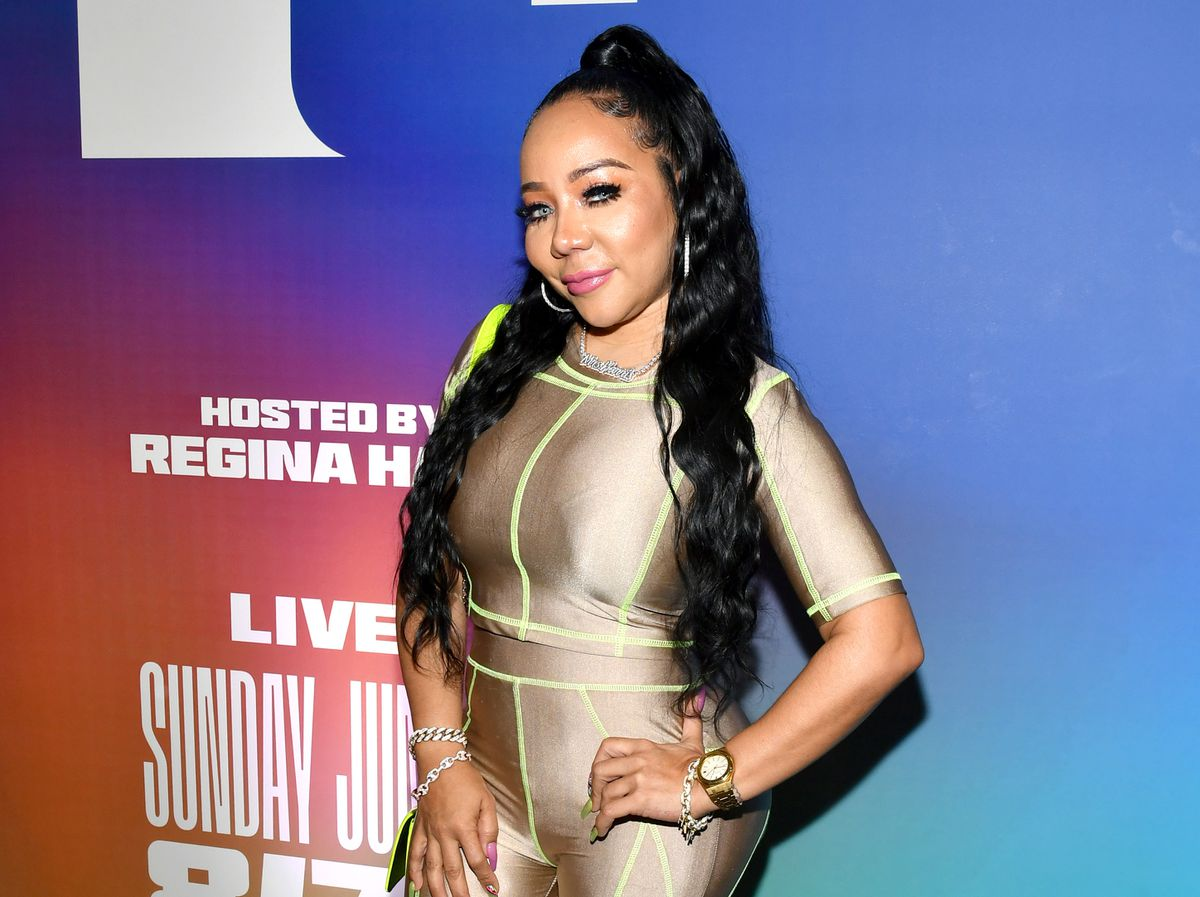 Tiny Harris Announces That Alexis Skyy Will Be On The Mix Live Show Today