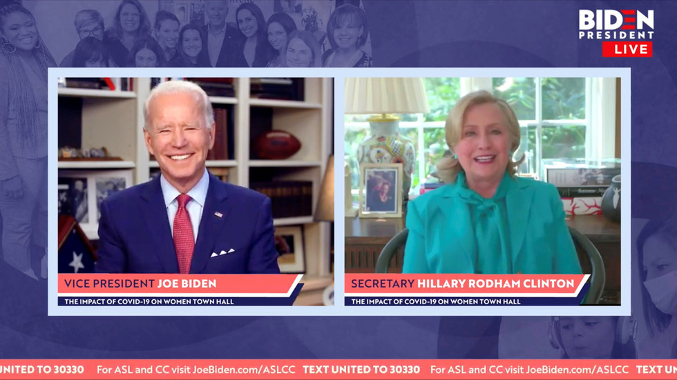 'We were so robbed': Loyal Hillary supporters celebrate voting for Clinton through Biden, vowing #StillwithHer