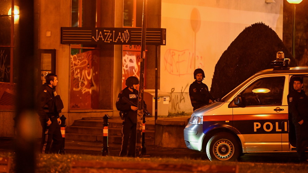'These evil attacks must stop!': Trump condemns 'vile terrorism' after Vienna shooting spree