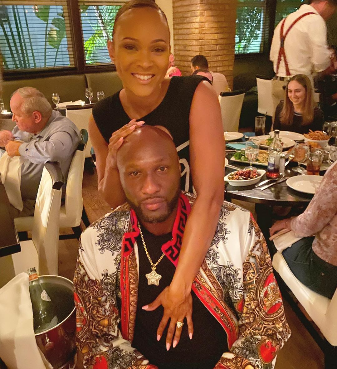 Sabrina Parr Publicly Professes Her Love For Lamar Odom – Fans Notice Her Engagement Ring