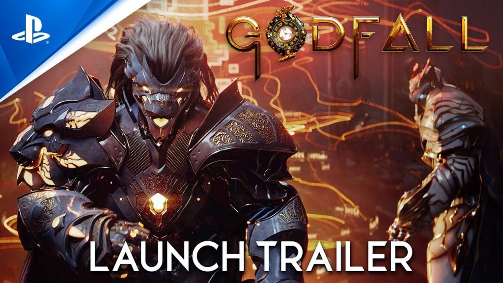 Preparing for a mission in Godfall, out next week on PS5
