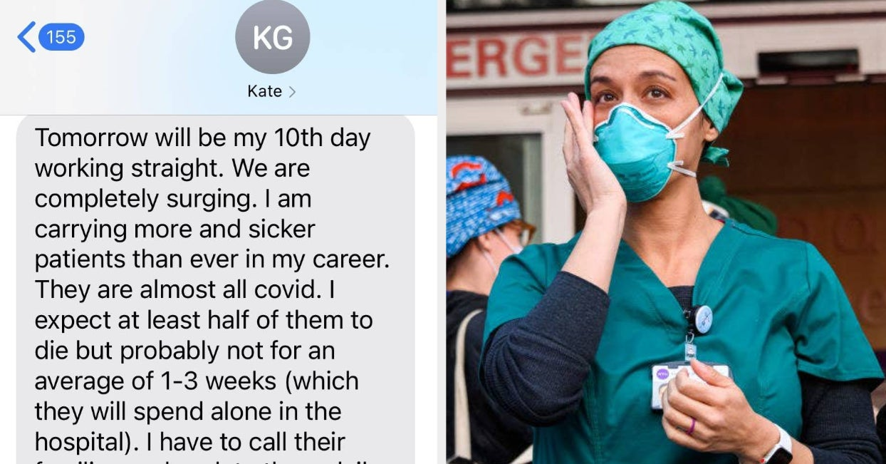 This Heartbreaking Text From A COVID Doctor Is Going Viral After June Diane Raphael Posted It On Twitter