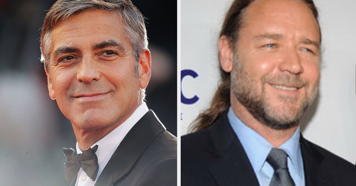 George Clooney Holding A Seven-Year Grudge Against Russell Crowe Is Me