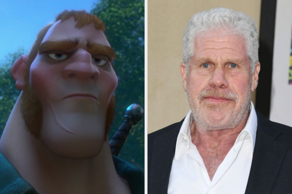 a Stabbington brother and Ron Perlman